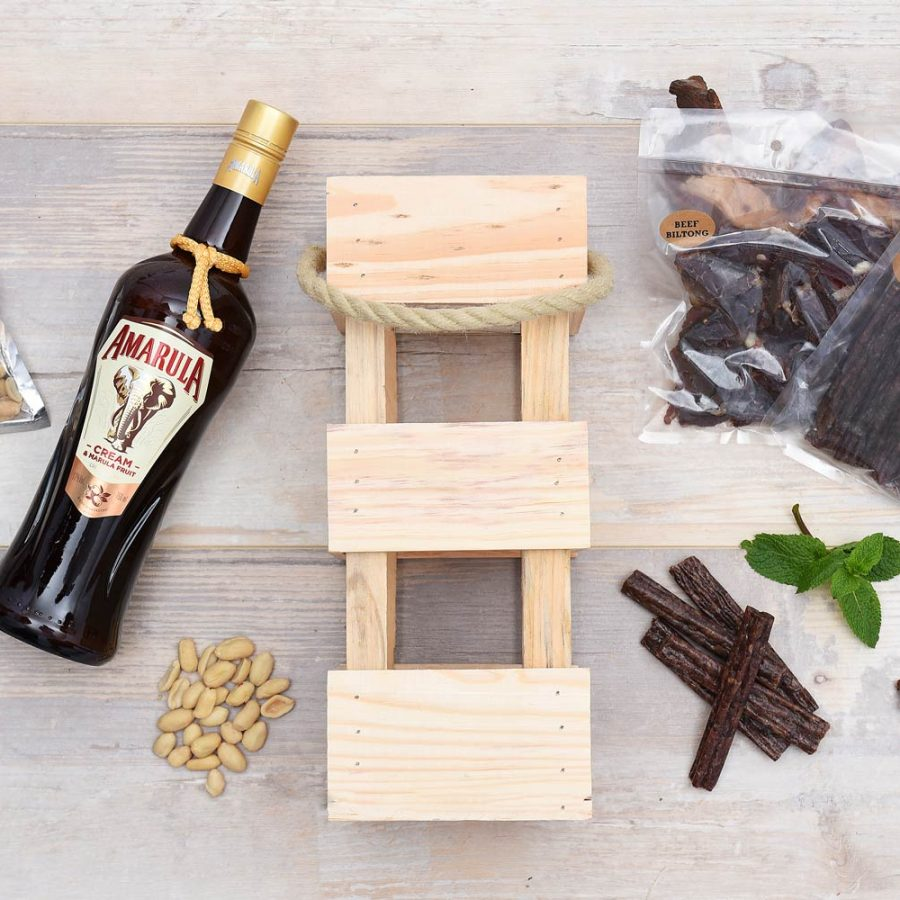 Amarula Liqueur & Snacks Gift Hamper | Hamper World