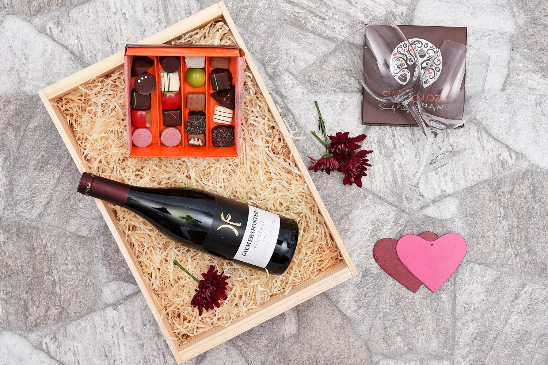Chocoloza & Diemersfontein Wine Hamper   Hamper World