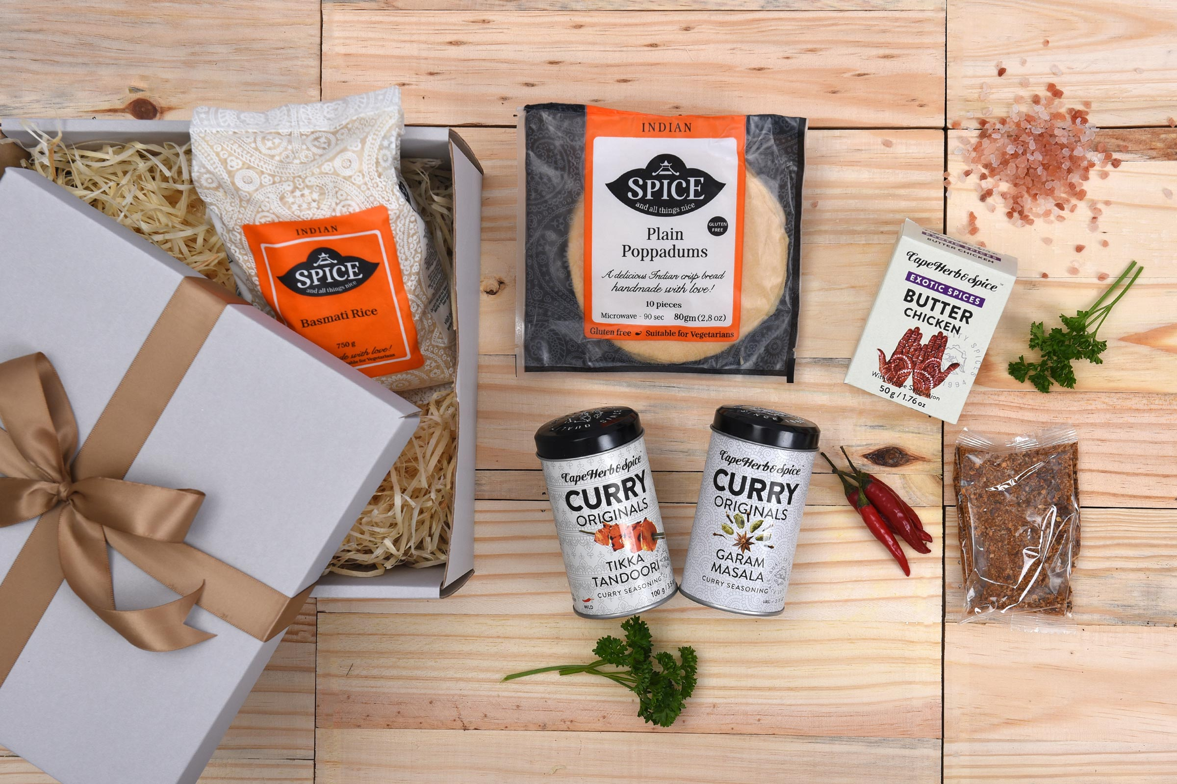 All Things Curry Spice Rice Cooking Hamper Hamper World