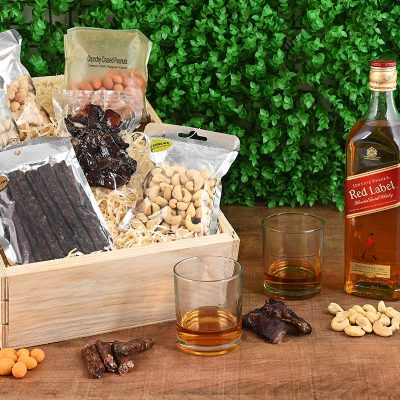 Johnnie Walker Red Whisky Hamper | Hamper World