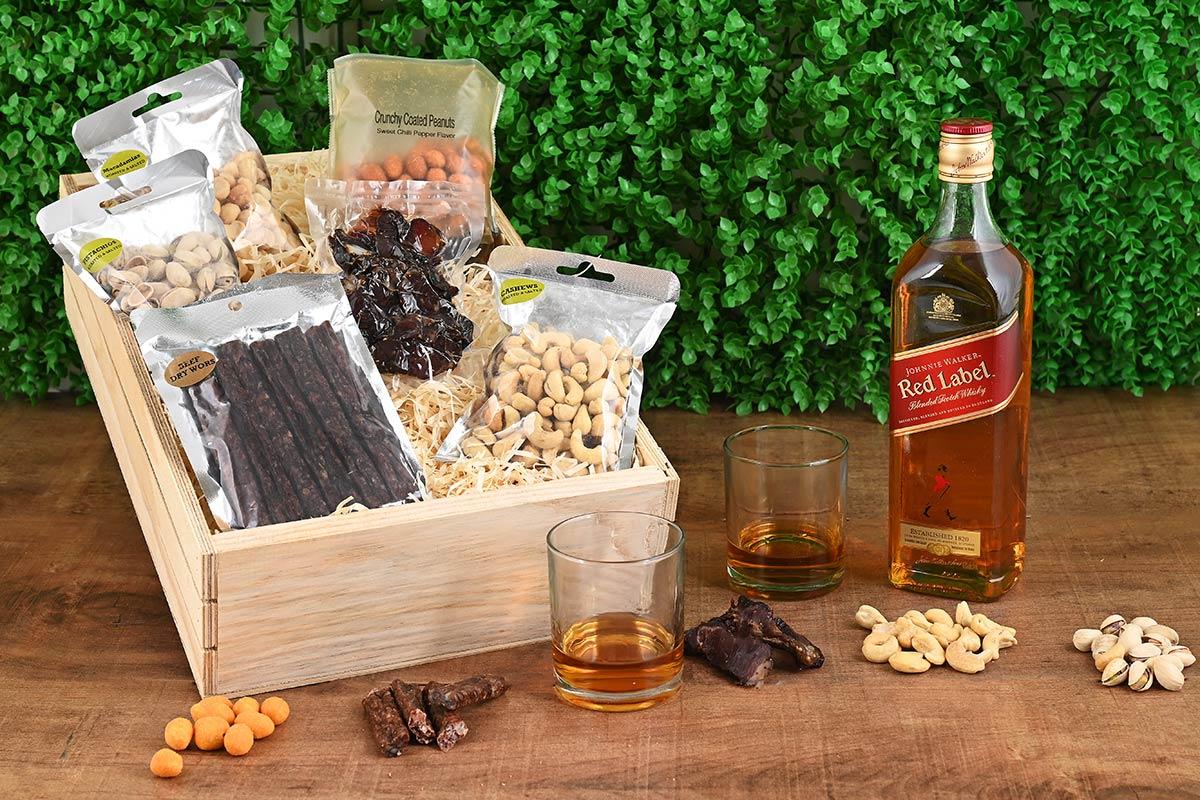 Johnnie Walker Red Whisky Hamper | Hamper World
