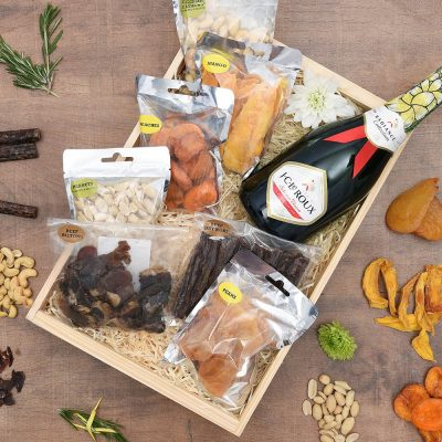 J.C. Le Roux Le Domaine & Snack Hamper | Hamper World
