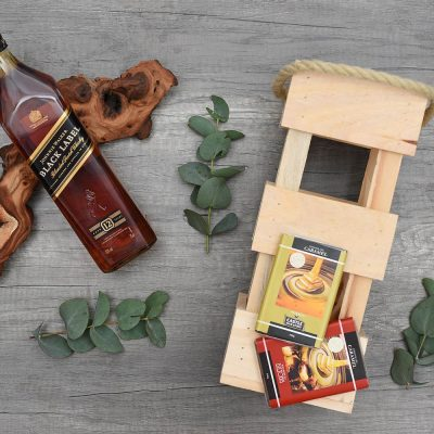 Johnnie Walker Black Whisky Hamper | Hamper World
