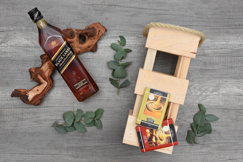 Johnnie Walker Black Whisky Hamper | Hamper World