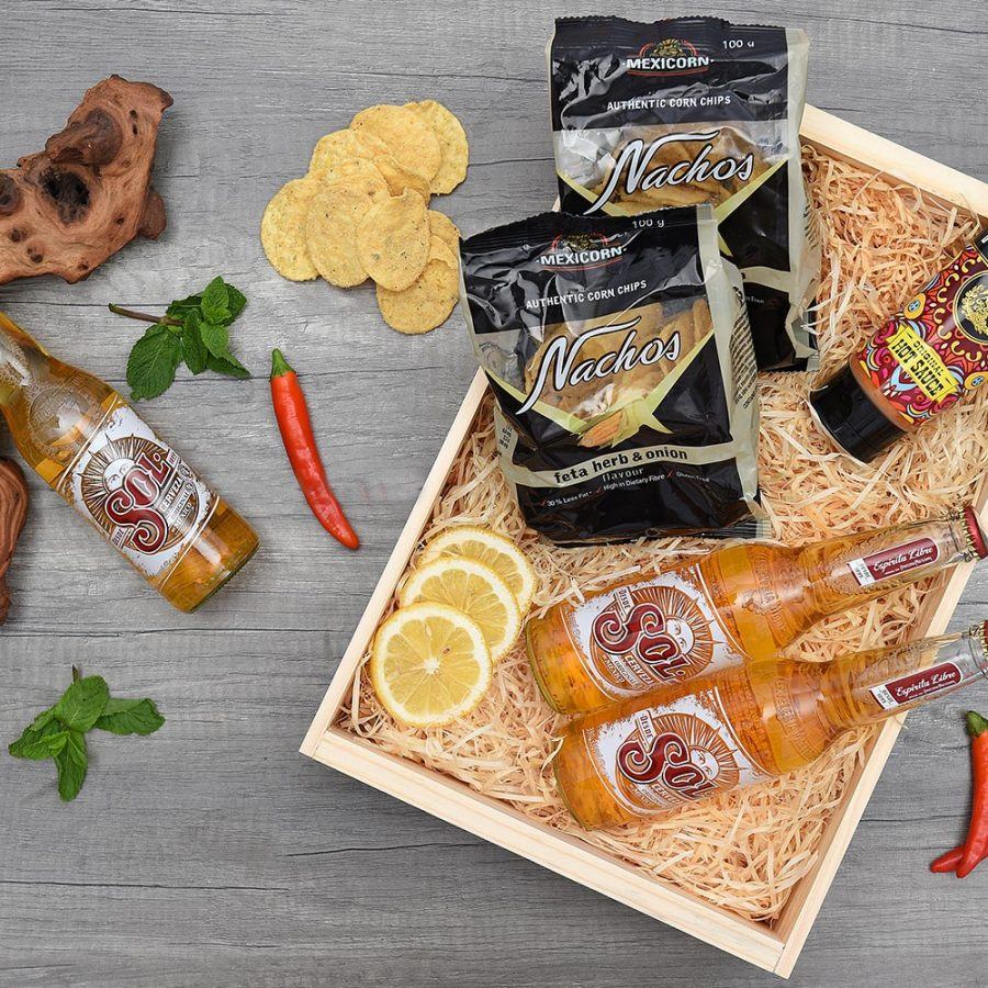 Mexican Snack & Beer Gift Hamper | Hamper World