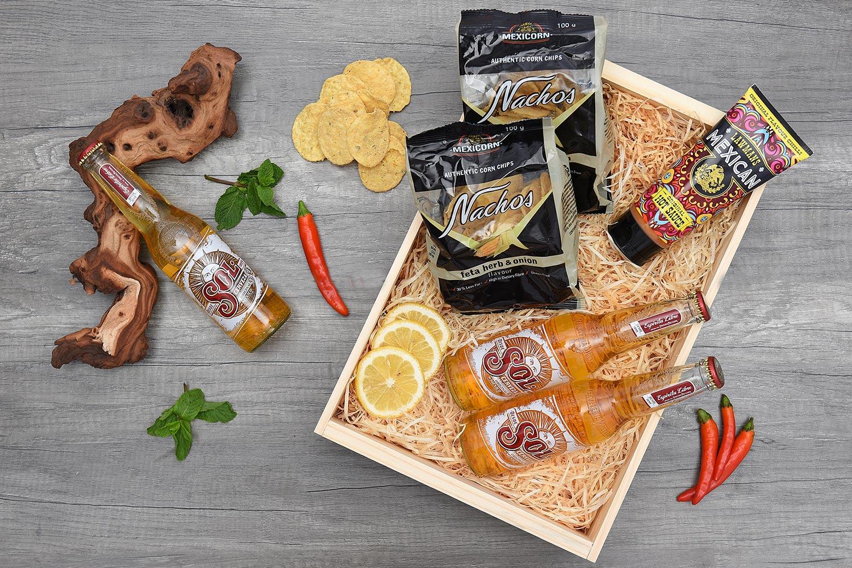 Mexican Snack & Beer Gift Hamper | Hamper World
