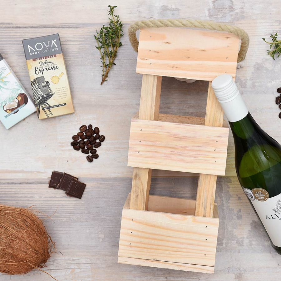Alvi's Drift Wine & Nova Chocolate Gift Hamper | Hamper World