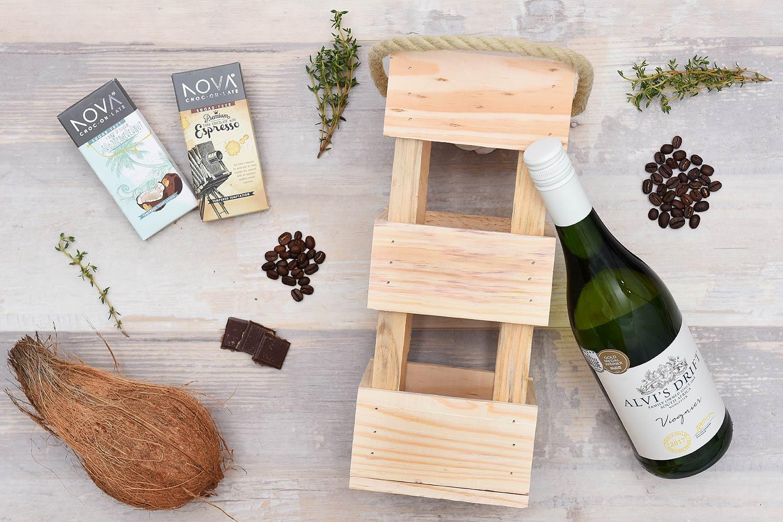 Alvi's Drift Wine & Nova Chocolate Gift Hamper | Hamper World