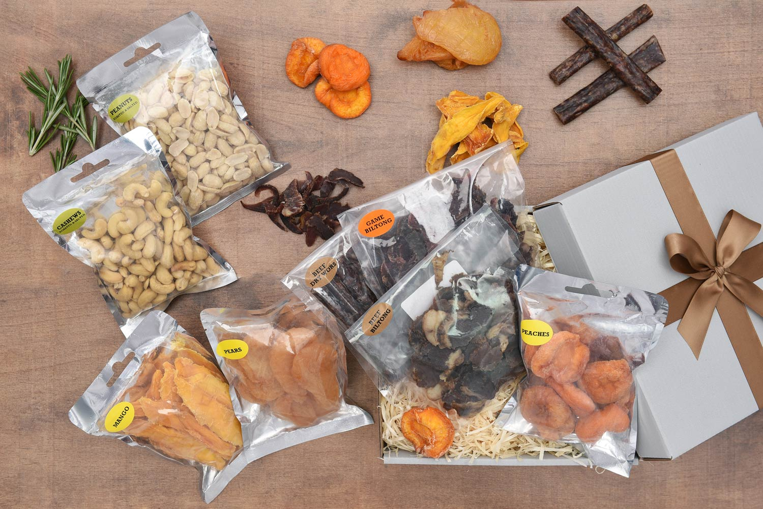 Dried Fruit, Snacks, Nuts & Biltong Gift | Hamper World