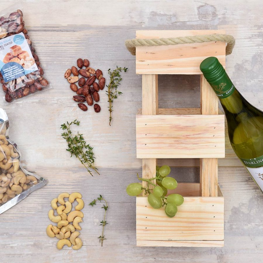 Darling Cellars White Wine & Snack Hamper | Hamper World