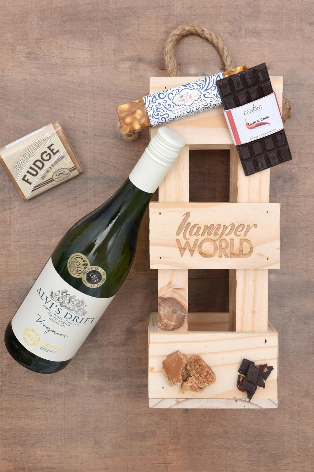 Alvi's Drift, Chocolate & Fudge Gift Hamper | Hamper World