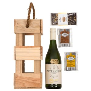 Alvi's Drift Wine Hamper With Chocolate & Fudge | Hamper World