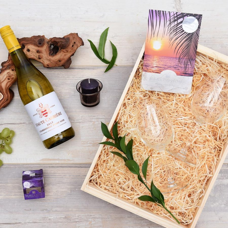 Haute Cabriere Wine & Pamper Hamper | Hamper World