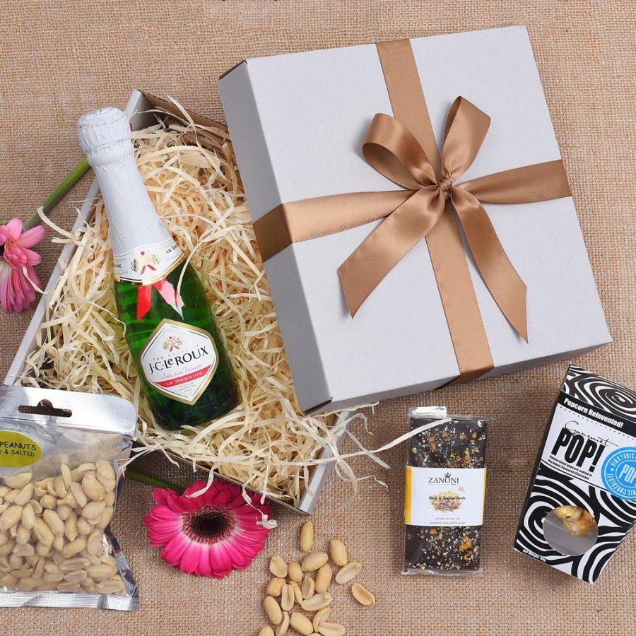 Sweets & Bubbly Gift Hamper | Hamper World
