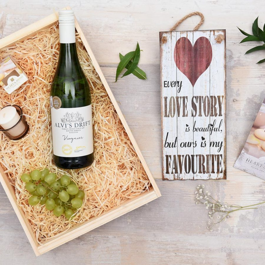 Alvi's Drift White Wine & Gift Hamper | Hamper World