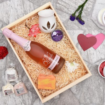 Bon Courage Blush & Pamper Gifts Hamper | Hamper World