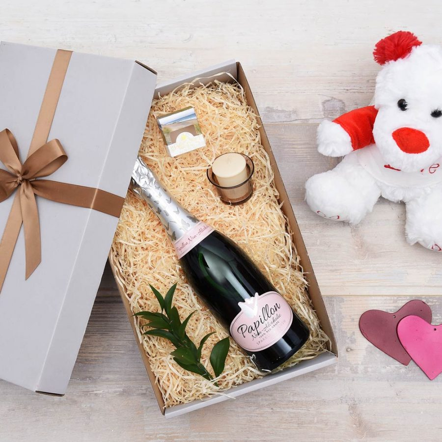 Non-Alcoholic Bubbly Romantic Gift Hamper | Hamper World