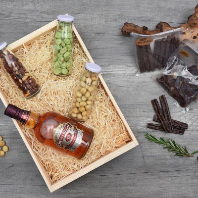 Chivas Regal, Nuts & Biltong Gift Hamper | Hamper World