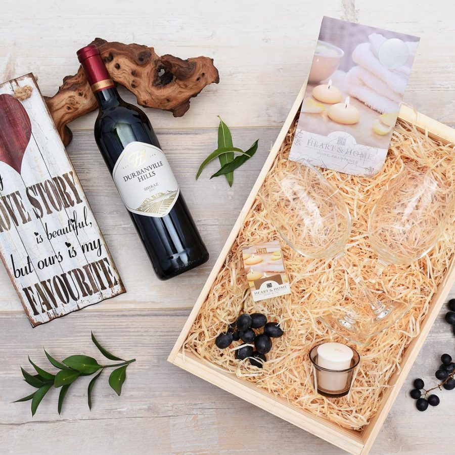 Durbanville Hills Red Wine & Gift Set | Hamper World