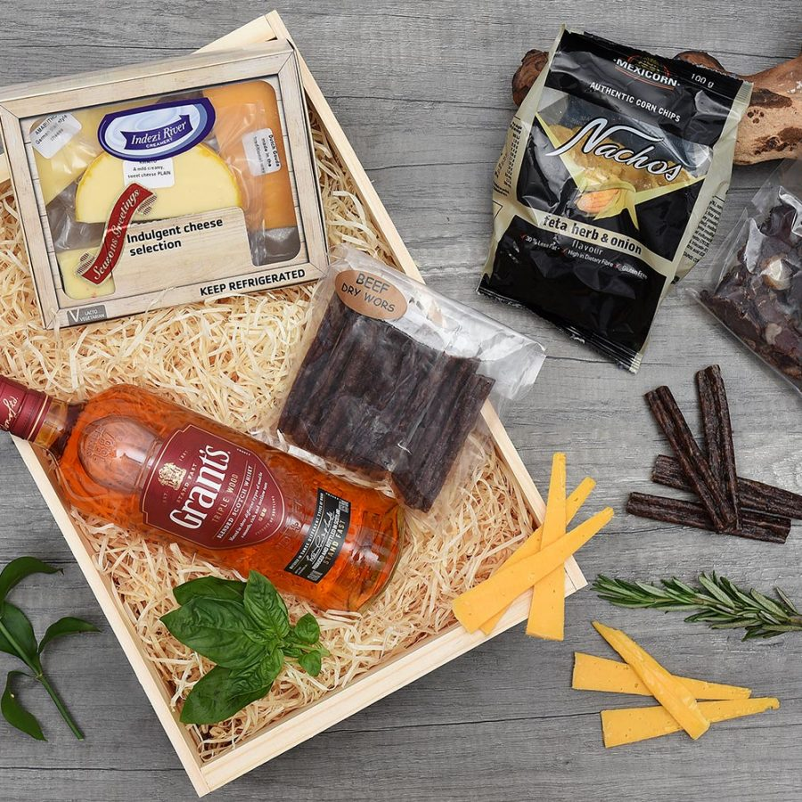 Grant's Blended Scotch Whisky & Snack Gift | Hamper World