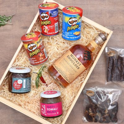 Gourmet Food Gift Hamper With Whisky | Hamper World