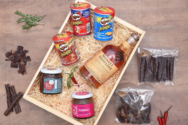 Gourmet Food Gift Hamper With Whisky | Hamper World