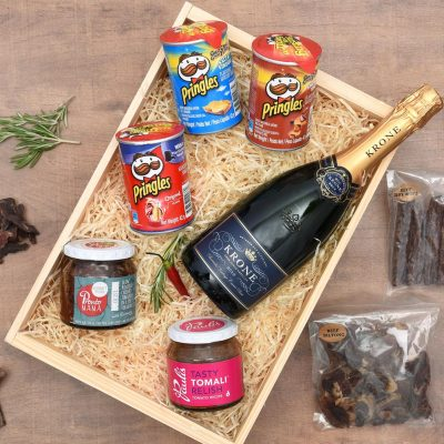 Gourmet Gift Set - Gourmet Food & Bubbly | Hamper World