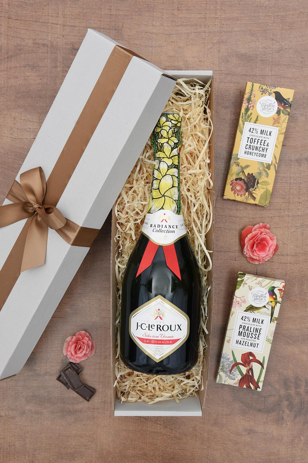 JC Le Roux Hamper with Delicious Chocolates | Hamper World