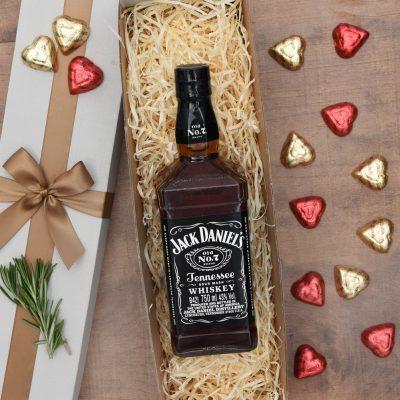 Jack Daniels Gift Set With Chocolates | Hamper World