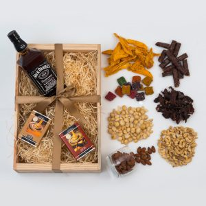 Snack Hamper With Jack Daniel's and Chocolates | Hamper World