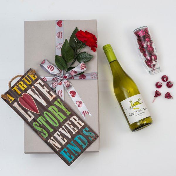 Hershey's Kisses With Wine Wine | Hamper World