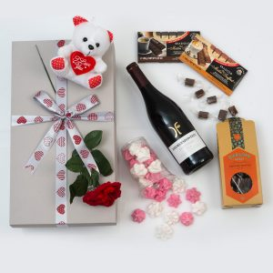 Romantic Gift - Teddy & Sweets | Hamper World