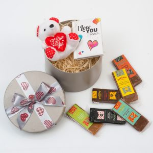 Darling Sweet Toffees With Teddy & Book | Hamper World