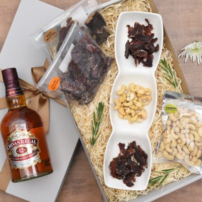 Chivas Regal Whisky Hamper & Snacks | Hamper World