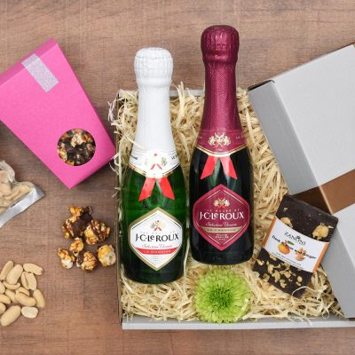Chocolates, Nuts & Bubbly Gift Hamper | Hamper World