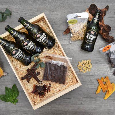 Windhoek Draught Beer Crate With Snacks | Hamper World
