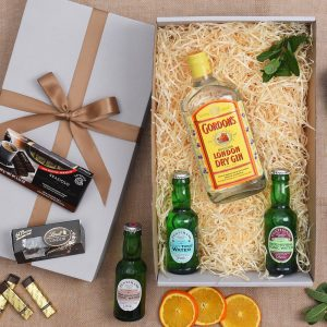 Gin Gift Hamper Chocolates Tonic