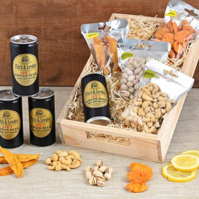 Ginger Beer Gift Hamper With Snacks | Hamper World