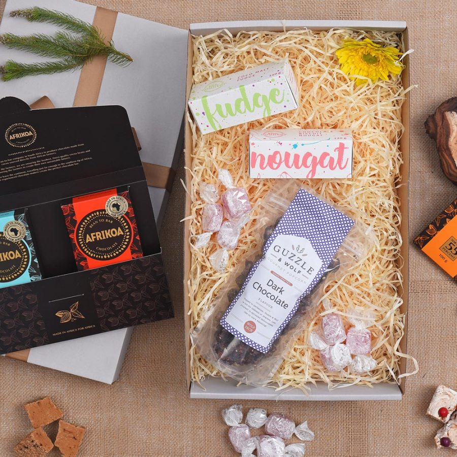 Afrikoa Chocolate & Sweets Gift | Hamper World