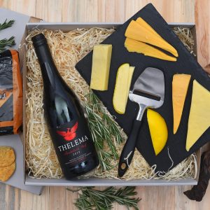 Thelema Red Wine & Cheese Gift | Hamper World