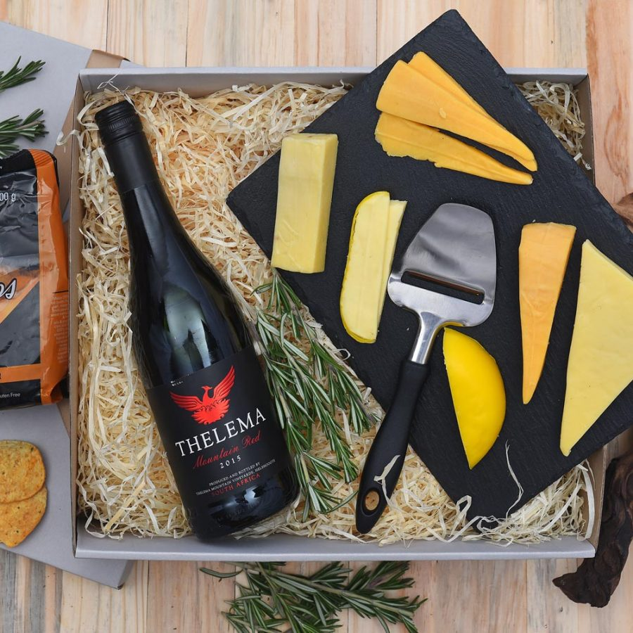 Thelema Red Wine & Cheese Gift | Hamper World