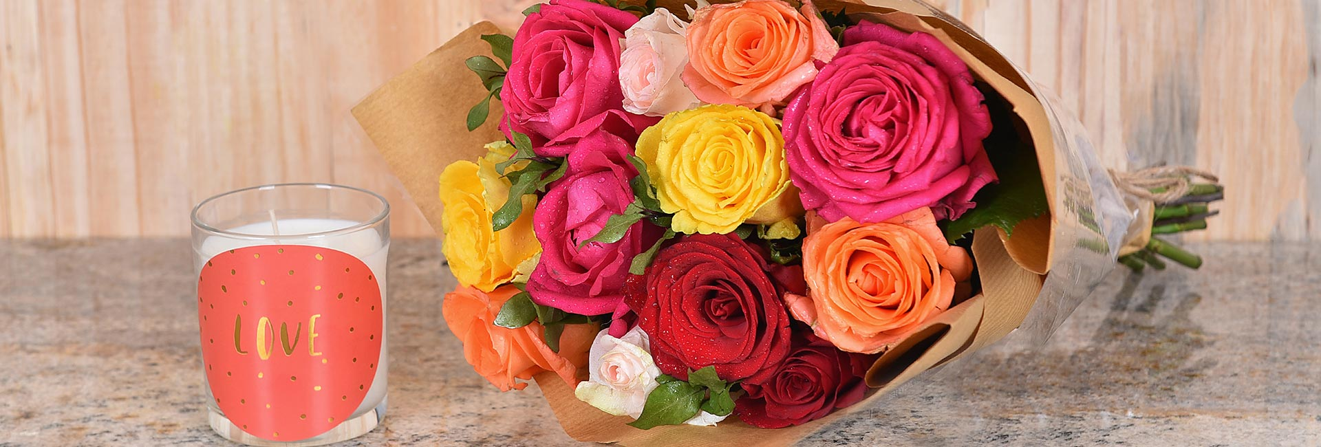 Order Roses Online Today In Gauteng | Hamper World
