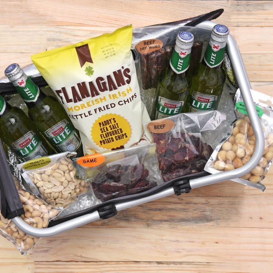 Castle Lite Beer Picnic Gift Hamper Cooler Bag
