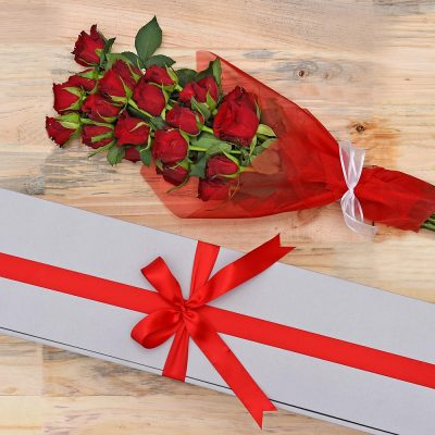 Bouquet Of Romance - 20 Red Roses | Hamper World Florist
