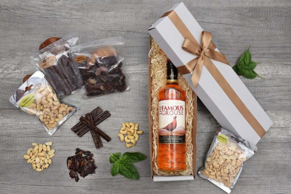 The Famous Grouse Whisky Hamper With Snacks | Hamper World