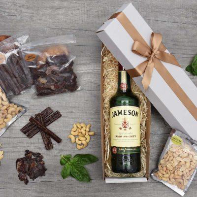 Jameson Irish Whiskey Gift & Snacks | Hamper World