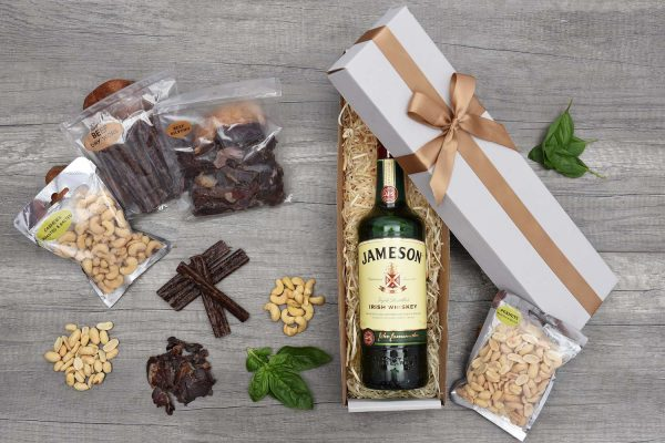 Jameson Irish Whiskey Gift & Snacks | Hamper World