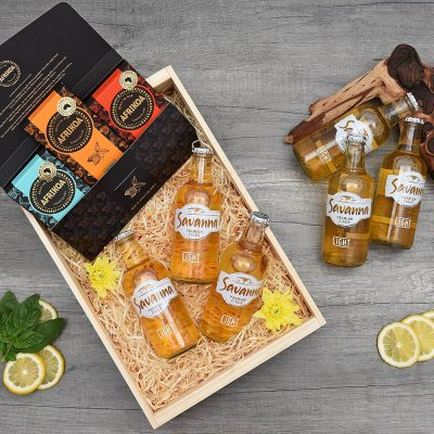 Afrikoa Chocolate & Savannah Light Gift Hamper | Hamper World