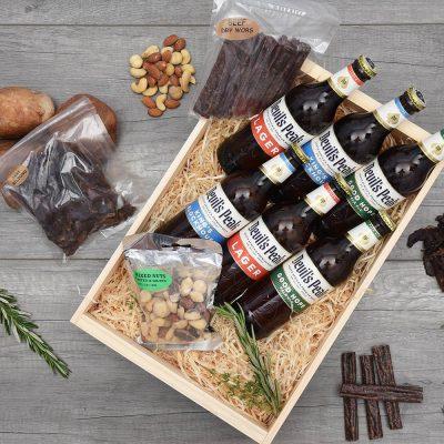 Devil's Peak Beer & Quality Biltong Crate | Hamper World