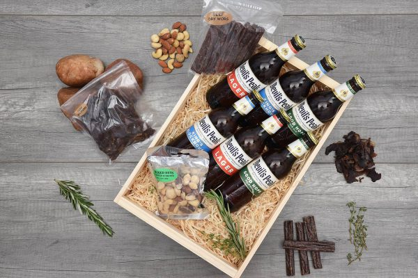 Devil's Peak Beer & Quality Biltong Crate | Hamper World